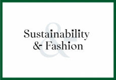 Sustainability & Fashion